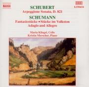 SCHUBERT - Kliegel - Sonate pour piano et arpeggione (ou violoncelle) en