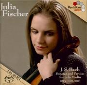 BACH - Fischer - Sonates et partitas pour violon seul BWV 1001-1006