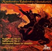 MYASKOVSKI - Measham - Symphonie n°21 op.51