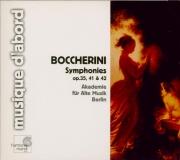 BOCCHERINI - Akademie für al - Symphonie pour orchestre n°17 en do mineu