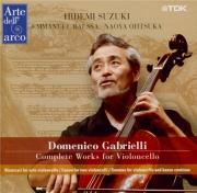 GABRIELLI - Suzuki - Ricercari pour violoncelle seul
