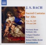 Sacred cantatas for alto
