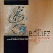 Le Domaine musical vol.1