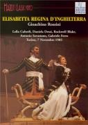 ROSSINI - Ferro - Elisabetta, regina d'Inghilterra