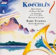 KOECHLIN - Tuckwell - Sonate pour cor et piano op.70