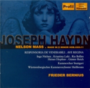 HAYDN - Bernius - Missa in Angustijs, pour solistes, chœur mixte, orches
