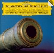 TCHAIKOVSKY - Järvi - Ouverture pour orchestre en mi bémol majeur op.49