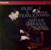 FAURE - Grumiaux - Sonate pour violon et piano n°1 en la majeur op.13