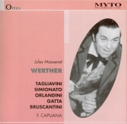 MASSENET - Capuana - Werther, drame lyrique en italien live Scala 21 - 4 - 51