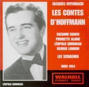 OFFENBACH - Schaenen - Les Contes d'Hoffmann (live Wien 6 - 1 - 54) live Wien 6 - 1 - 54