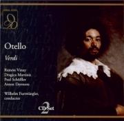 VERDI - Furtwängler - Otello, opéra en quatre actes