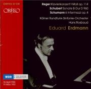 REGER - Erdmann - Concerto pour piano et orchestre en fa mineur op.114