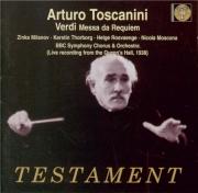 VERDI - Toscanini - Messa da requiem, pour quatre voix solo, choeur, et o Live 27 - 5 - 1938