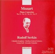 MOZART - Serkin - Concerto pour piano et orchestre n°11 en fa majeur K.4