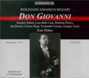 MOZART - Böhm - Don Giovanni (Don Juan), dramma giocoso en deux actes K