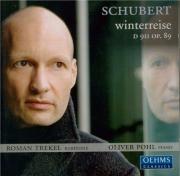 SCHUBERT - Trekel - Winterreise (Le voyage d'hiver) (Müller), cycle de m