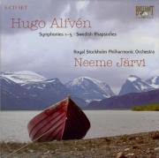 ALFVEN - Järvi - Symphonies (5)