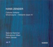 ZENDER - Zender - Cabaret Voltaire
