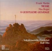MARTIN - Otto - Messe pour double choeur a cappella