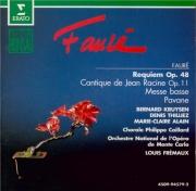 FAURE - Frémaux - Requiem pour voix, orgue et orchestre en ré mineur op