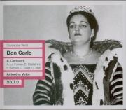 VERDI - Votto - Don Carlo, opéra (version italienne) Live, Firenze 16 - 06 - 1956