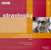 STRAVINSKY - Stravinsky - Agon, ballet pour orchestre