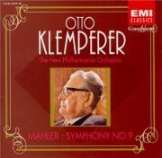 MAHLER - Klemperer - Symphonie n°9 remastered by Yoshio Okazaki, import Japon