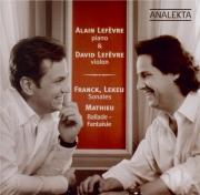 FRANCK - Lefevre - Sonate pour piano et violon en la majeur FWV.8