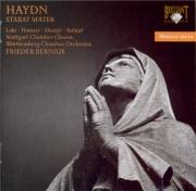 HAYDN - Bernius - Stabat Mater, pour quatre solistes, chœur mixte, orche