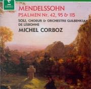 MENDELSSOHN-BARTHOLDY - Corboz - Psaume 42, pour solistes et choeur avec