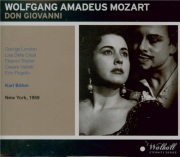 MOZART - Böhm - Don Giovanni (Don Juan), dramma giocoso en deux actes K Live MET 14 - 2 - 1959