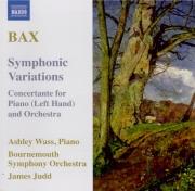 BAX - Judd - Variations symphoniques pour piano et orchestre GP.210