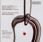 MATHIEU - Lefevre - Concertino n°2
