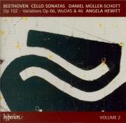 BEETHOVEN - Hewitt - Sonate pour violoncelle et piano n°4 op.102 n°1