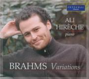 BRAHMS - Hirèche - Vingt-huit variations sur un thème de Paganini, pour