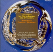Concertos for Horn Quartet