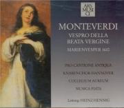 MONTEVERDI - Hennig - Vespro della beata Vergine