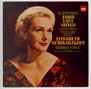 STRAUSS - Schwarzkopf - Vier letzte Lieder (Quatre derniers lieder), pou remastered by Yoshio Okazaki, import Japon