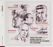 BARTOK - Holliger - Divertimento pour orchestre à cordes Sz.113 BB.118