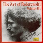 The Art of Ignace Jan Paderewski Vol.3