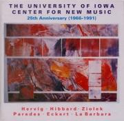 The University of Iowa - Center for New Music 25th Anniversary