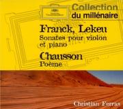 FRANCK - Ferras - Sonate pour piano et violon en la majeur FWV.8