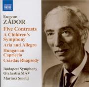 ZADOR - Smolij - Five contrasts, pour orchestre