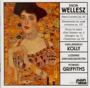 WELLESZ - Griffiths - Concerto pour piano op.49