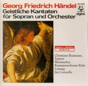 Geistliche Kantaten für Sopran und Orchester