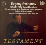BEETHOVEN - Svetlanov - Léonore III op.72b : ouverture