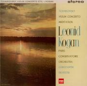 TCHAIKOVSKY - Kogan - Concerto pour violon en ré majeur op.35 Import Japon