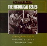 HAYDN - Griller Quartet - Quatuor à cordes n°69 en si bémol majeur op.71