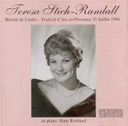 Récital au Festival d'Aix en Provence 31 Juillet 1956