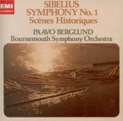 SIBELIUS - Berglund - Symphonie n°1 op.39 (Import Japon) Import Japon